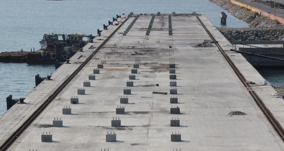 North Cargo Berth II: Ready for commencement