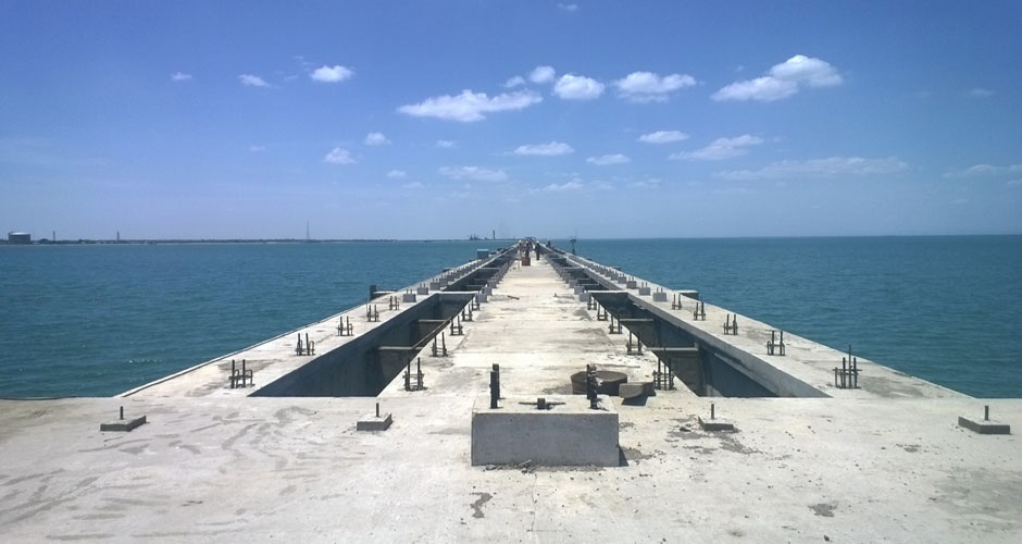 Over Sea Conveyor: Nearing completion